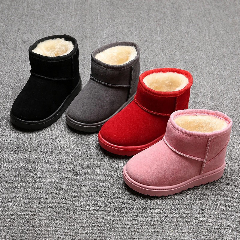 Cheap price Lady Platform Sandals - Sequins girls boots kids winter snow boots bling paillette children shiny ankle boots – BYRING detail pictures