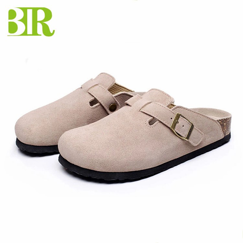 Factory Price Cork Women Shoes - New Design Soft Sandal Men Cork Clogs Footbed Comfort Sandals BRS08 – BYRING