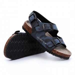 OEM/ODM Supplier China Hot Selling TPR Sole Boys Sandals Ys19-Xd-60
