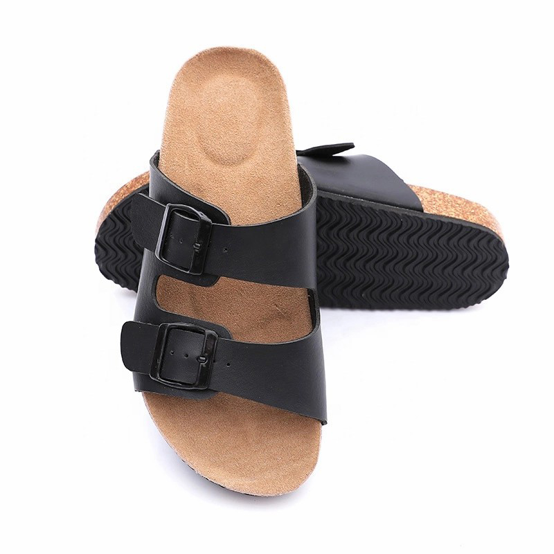 Free sample for Women Comfort Sandal - Wholesale Buckle Straps Men Cork Leather Sandals, Summer Slippers – BYRING Featured Image