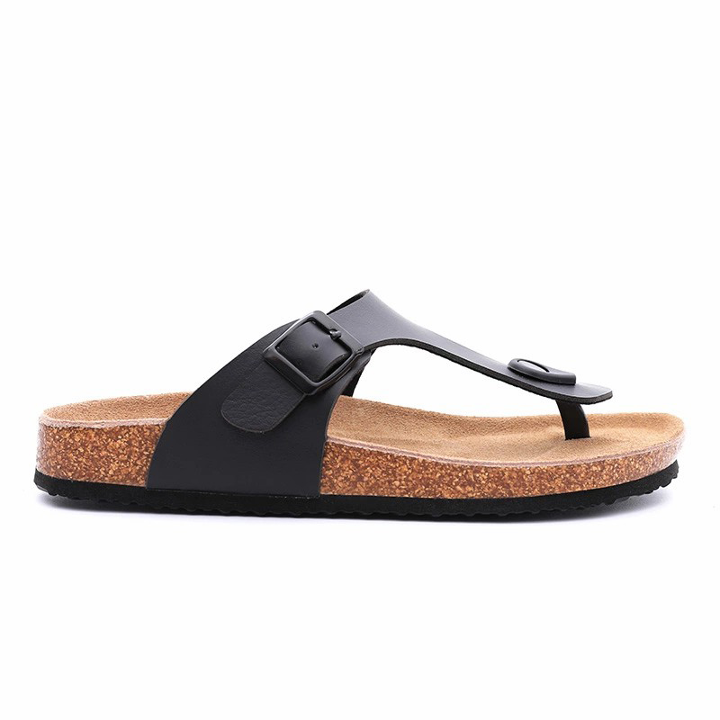 Free sample for Women Comfort Sandal - Wholesale Buckle Straps Men Cork Leather Sandals, Summer Slippers – BYRING