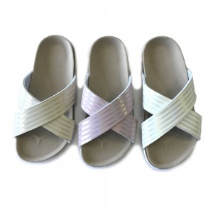 New Delivery for China Trend Brand Byring Shoes Footbed Slide Sandal Slippers