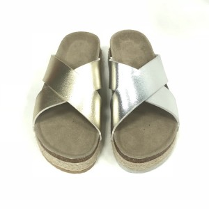 Best Price for Girl Flip Flop Cork Sandal - Casual Style Women's Summer Cork Sole Wedges Cross Sandals For Women – BYRING