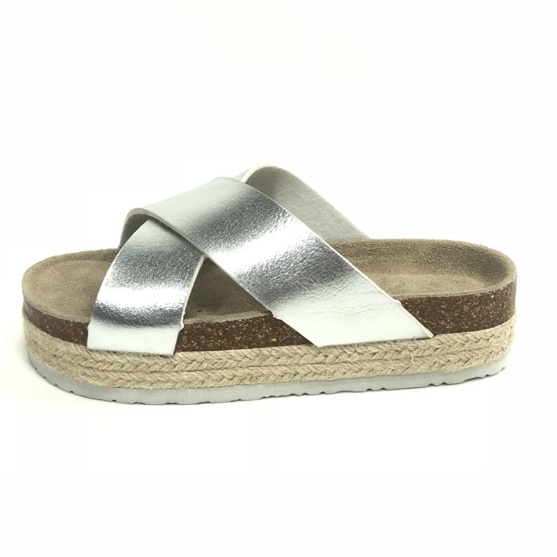 Wholesale Price China Girls Shoes - Casual Style Women's Summer Cork Sole Wedges Cross Sandals For Women – BYRING