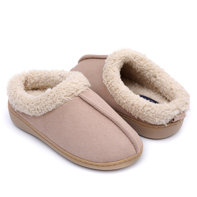 Chinese wholesale Beautiful Girls Sandals - Comfortable Women home Indoor Slippers made of Micro Fibre upper and antislip sole – BYRING