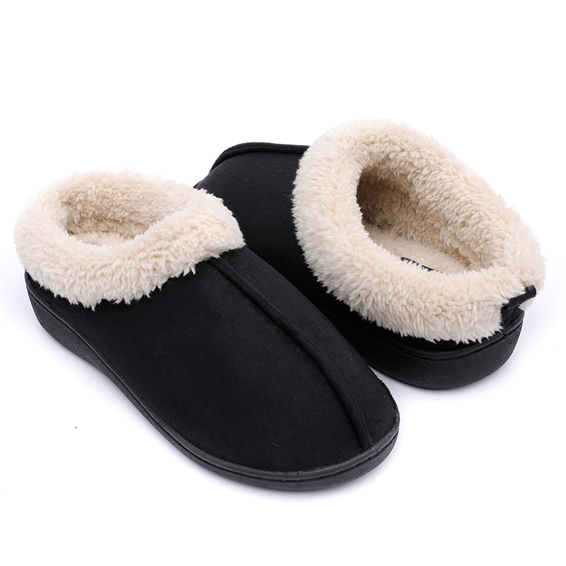 Chinese wholesale Beautiful Girls Sandals - Comfortable Women home Indoor Slippers made of Micro Fibre upper and antislip sole – BYRING Featured Image