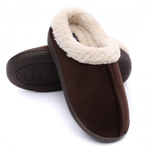 Comfortable Women home Indoor Slippers made of Micro Fibre upper and antislip sole