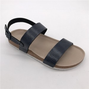 2021 New Wholesale Summer Cork Outdoor 2 Straps Slippers For Casual Women's Sandals