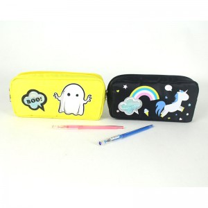 Cool-Undertale Unisex Student Pencil Case Pen Pouch Bag Supplies Stationery Organizer Box Pencil Holder College Middle School Office for Boys Girls