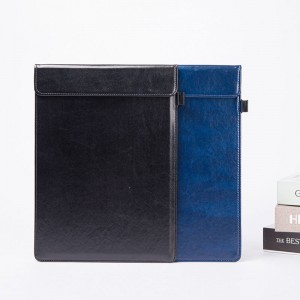 Camei Clipboard Faux Leather Single (Black、Blue、Brown)