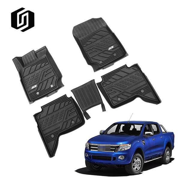 TPE CAR FLOOR MAT FOR FORD RANGER SUPER CREW 2019+