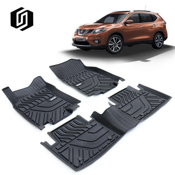 TPE CAR FLOOR MAT FOR NISSAN X-TRAIL 2014+