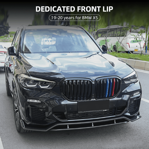 ABS MATERIAL CAR FRONT LIP FOR BMW X5 Featured Image