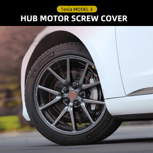 Hub Screw Protective Cover For Tesla