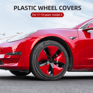 Free sample for 3d Car Mats - PLASTIC WHEEL COVERS FOR 17-19 YEARS TESLA MODEL 3 – Deao