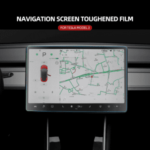 Screen Protector Tempered Film For Tesla Model 3