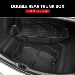 Good Quality 4d Car Mats - Trunk Storage Box For Tesla Model 3 – Deao