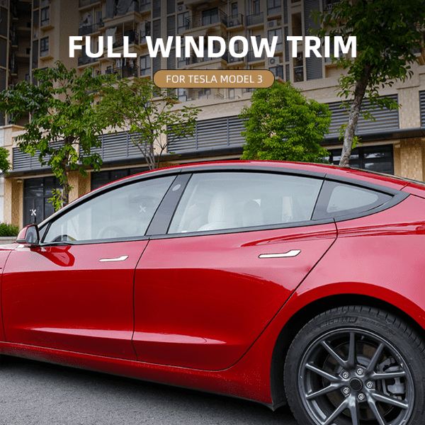 Window Trim For Tesla Model 3