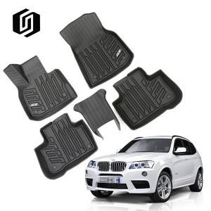 TPE CAR FLOOR MAT FOR BMW X3 2018+
