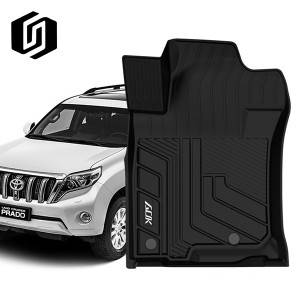 TPE CAR FLOOR MAT FOR TOYOTA PRADO 2010+