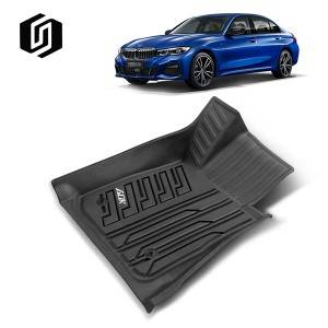 TPE CAR FLOOR MAT FOR BMW 3 2019+