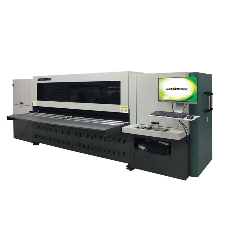 WD250-8A+ upgraded Corrugated carton digital scanning Printing Machine fit Small Quantity Orders Featured Image