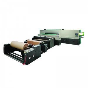 China Supplier Digital Color Printer - WDUV00-XXX industry single pass roll to roll digital pre-printer for corrugated paper – Wonder