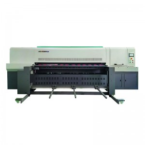 WDUV250-12A large format shiny color digital Printing Machine fit Small Quantity Orders with UV ink