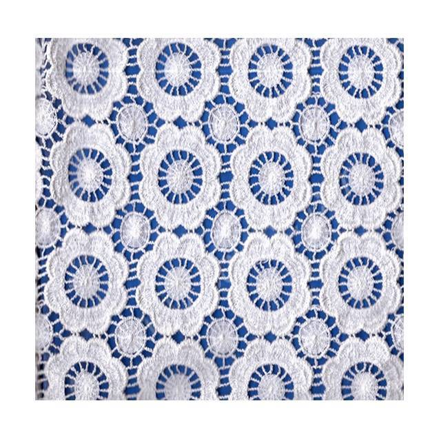 new design water soluble chemical lace fabric for garments