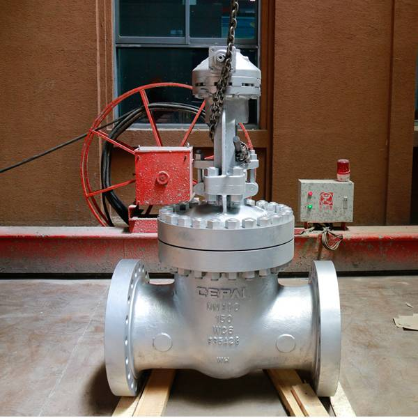 Factory wholesale Casting Steel Low Temp Gate Valve - Cast steel gate valve – CEPAI