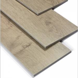 Porcelain Wood Effect Floor Tiles Low Thermal Shock Resistance For Building Material