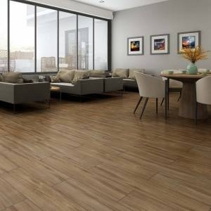 20x90CM Building Material Wood Effect Floor Tiles Moisture – Proof