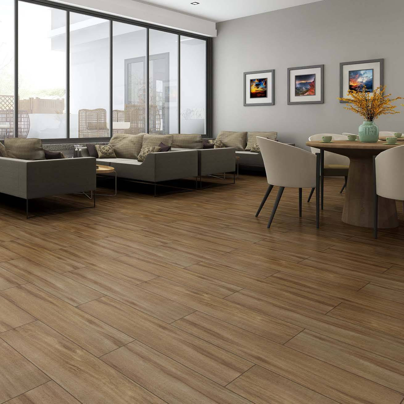 20x90CM Building Material Wood Effect Floor Tiles Moisture – Proof Featured Image