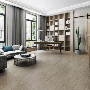 Matt Finish Wood Effect Floor Tiles For Project Wear – Resistant