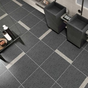 Europe style for Happy Floors Porcelain Tile - Modern Rustic Brick Terrazzo Look Ceramic Floor Tiles 600x600mm Flat Surface – Cerarock