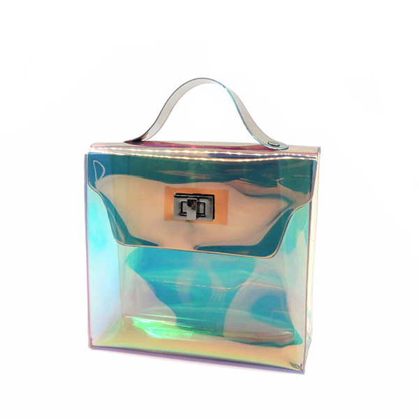 OEM/ODM China Holographic Drawstring Backpack - Holographic TPU Handbags Eco-friendly biodegradable – Changlin