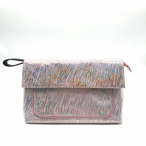 Holographic Canvas Bag Elegant Cosmetic Makeup Bag Vacation Packaging Toiletry Bag Customized