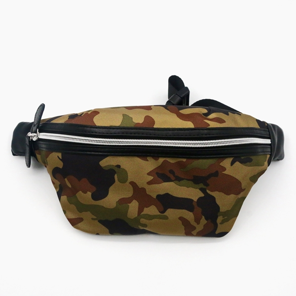 Camouflage RPET Bag 100% Recycled Material Pocket Sport Style Running Bag Portable Cool Fashion messenger bag for unisex Featured Image