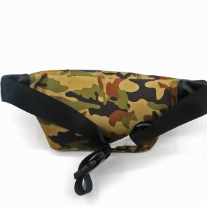 Camouflage RPET Bag 100% Recycled Material Pocket Sport Style Running Bag Portable Cool Fashion messenger bag for unisex