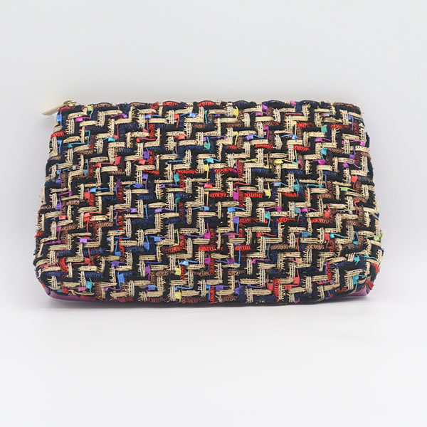 Wholesale Price Wood Material Bags - Cheap polyester & PU contrast makeup bag cosmetic bag – Changlin