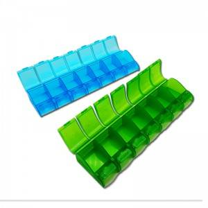 Low MOQ for Material Selection – 7day plastic pill box  – Chapman