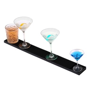 PVC Bar Mat, Bar Drip Mat, Rail Runners For Glassware, Drink, Beer
