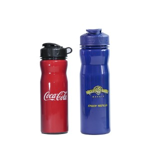 Charmlite Factory Direct Customized Logo 650ml Water Bottle with Lanyard for Promotion
