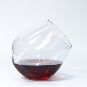 Charmlite Shatterproof Wine Glass Unbreakable Whiskey Cocktail Glass Plastic Wine Cup – 18 oz