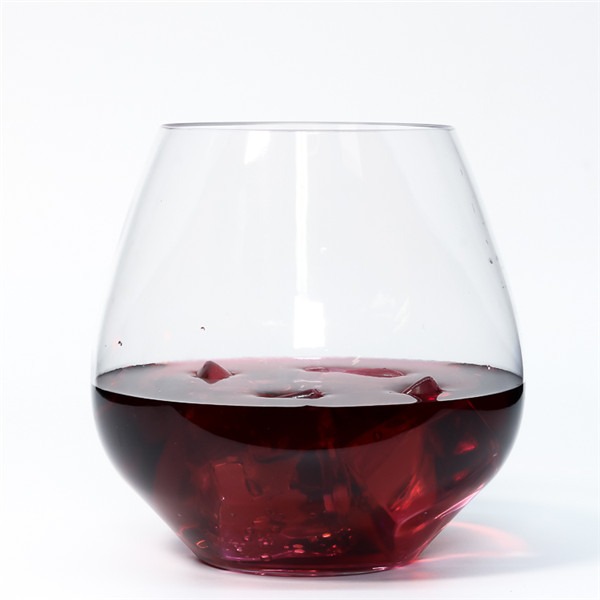 Charmlite Shatterproof Wine Glass Unbreakable Whiskey Cocktail Glass Plastic Wine Cup – 18 oz Featured Image