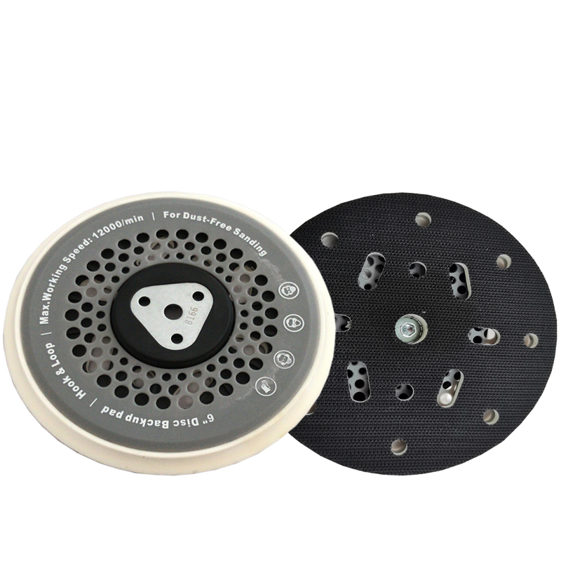 6in Multi-hole DA Backing Plate For Orbital Random Polishers CHE-DP25 Featured Image