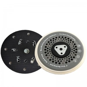 6in Multi-hole DA Backing Plate For Orbital Random Polishers CHE-DP25