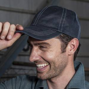 Restaurant Waiter Chef Poly Cotton Baseball Cap U401S119000AG
