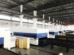 Manufacturer for Small Fiber Laser Cutting Machine - 15000W 2500x8000mm Fiber laser cutting machine – QY Laser