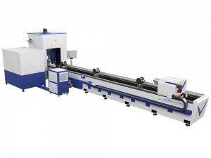 Fast delivery fibre tube laser cutting machine - 1500W Tube Laser Cutting Machine – QY Laser
